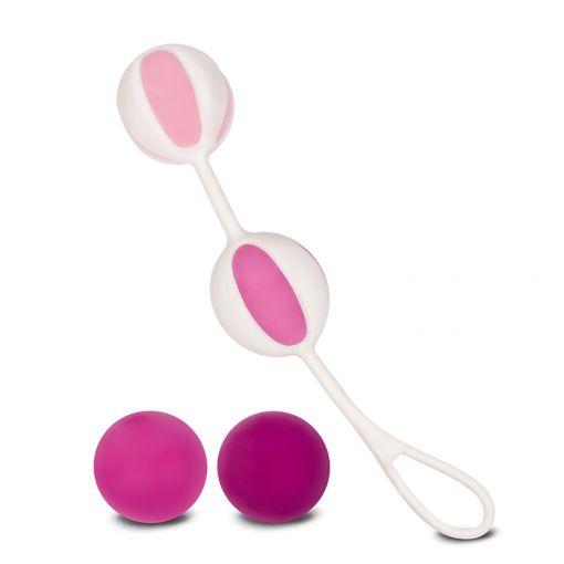 Gvibe Geisha Balls 2 zestaw kulek gejszy różowy