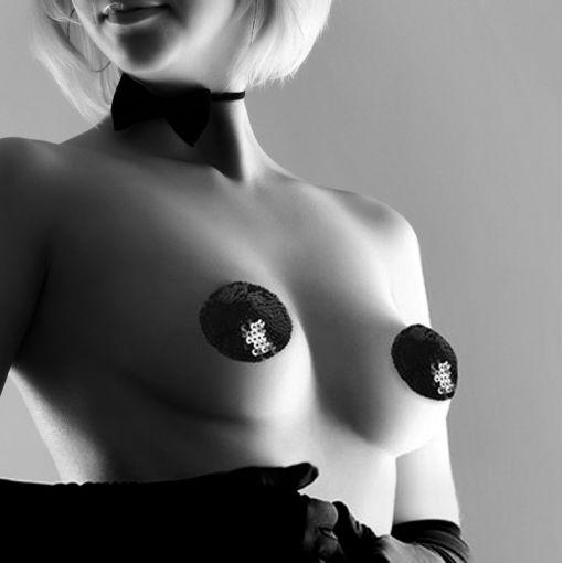 Bijoux Indiscrets Burlesque nasutniki z cekinami