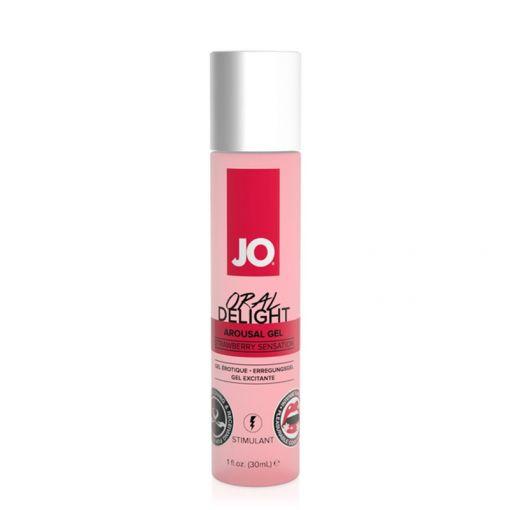 System JO Oral Delight żel do seksu oralnego truskawkowy 30 ml