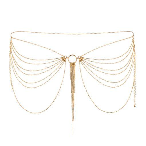 Bijoux Indiscrets Magnifique łańcuszek na pośladki złoty
