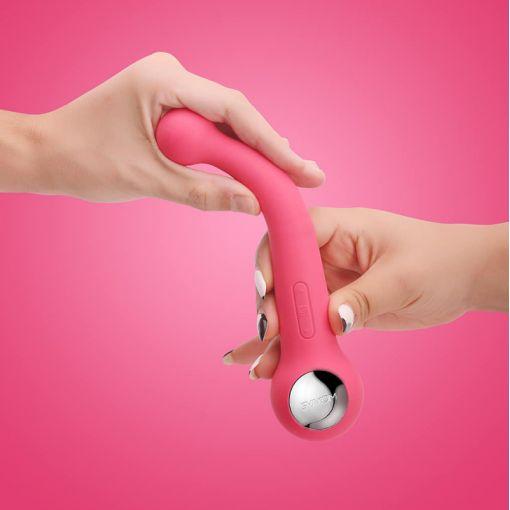 Svakom Bonnie podwójny wibrator różowy