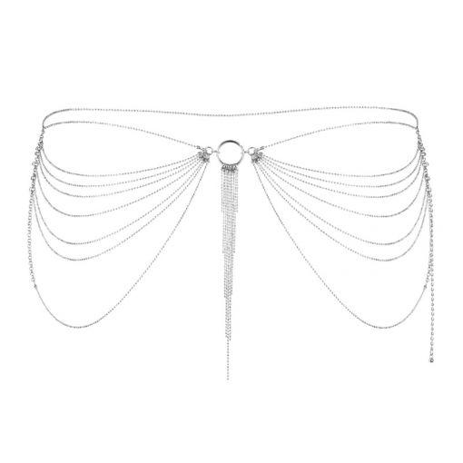Bijoux Indiscrets Magnifique łańcuszek na pośladki srebrny