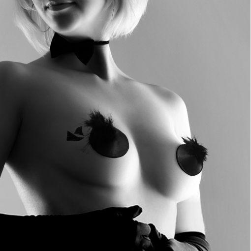 Bijoux Indiscrets Burlesque nasutniki z piórkami