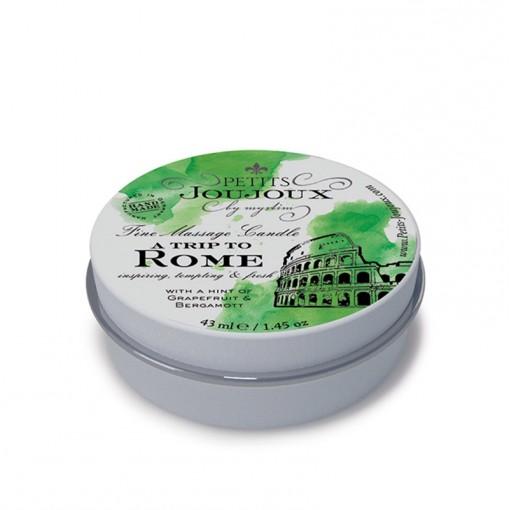 Petits Joujoux świeca do masażu Rzym grejpfrut i bergamotka 33 g