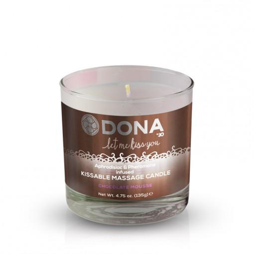 Dona świeca do masażu smakowa mus czekoladowy 135 g
