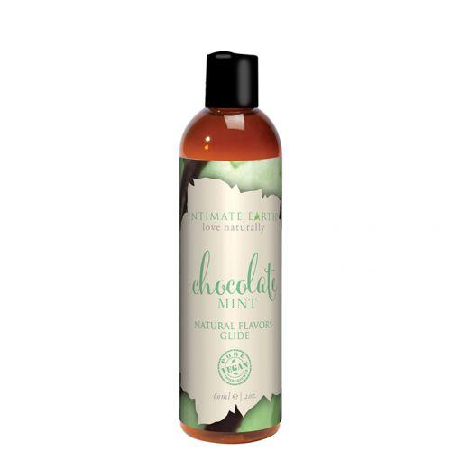 Intimate Earth Oral Pleasure organiczny lubrykant na bazie wody czekolada z miętą 60 ml