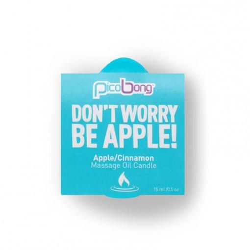 PicoBong świeczka do masażu jabłko i cynamon 15 ml
