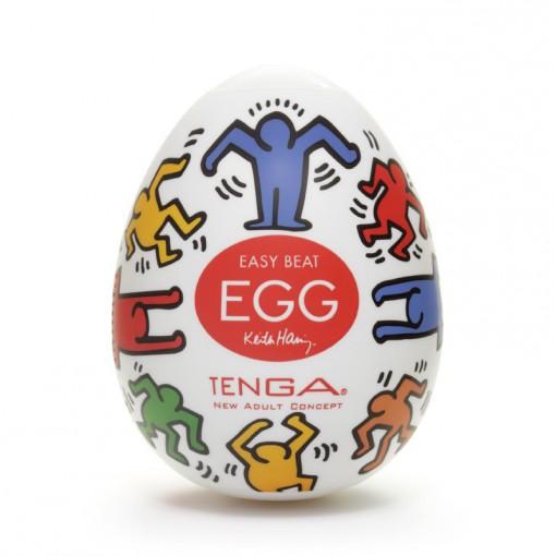 Tenga Egg Keith Haring masturbator w kształcie jajka Dance