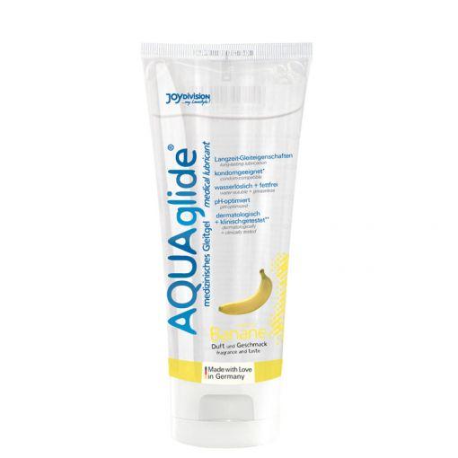 Joydivision AQUAglide lubrykant na bazie wody bananowy - 100 ml