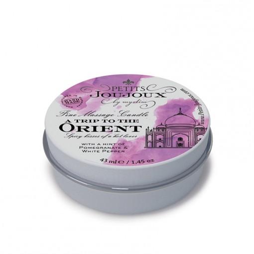 Petits Joujoux świeca do masażu Orient granat i biały pieprz 33 g