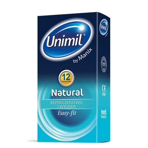 Unimil Natural klasyczne prezerwatywy 12 szt.