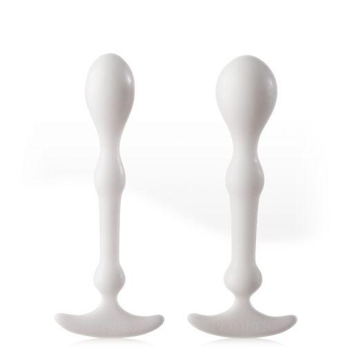 Aneros Peridise zestaw anatomicznych korków analnych biały