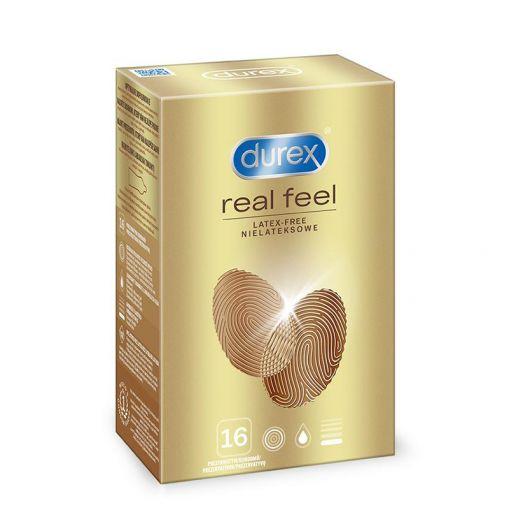 Durex Real Feel prezerwatywy nielateksowe 16 szt.