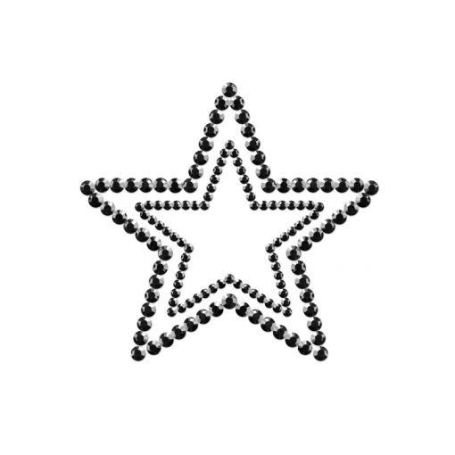 Bijoux Indiscrets Mimi nasutniki gwiazdki czarne