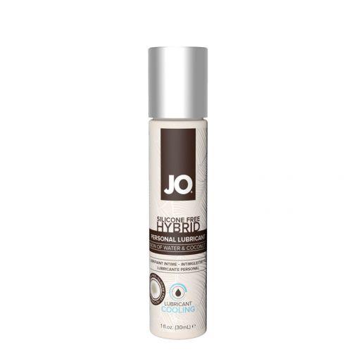System JO Hybrid kremowy lubrykant wodno-kokosowy chłodzący 30 ml