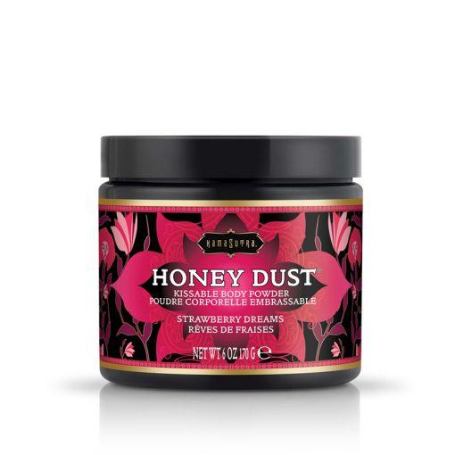 Kama Sutra Honey Dust pyłek do gry wstępnej truskawkowy 170 g
