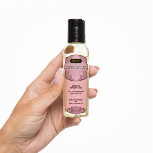 Kama Sutra Aromatic olejek do masażu róża, jaśmin i drzewo sandałowe 59 ml