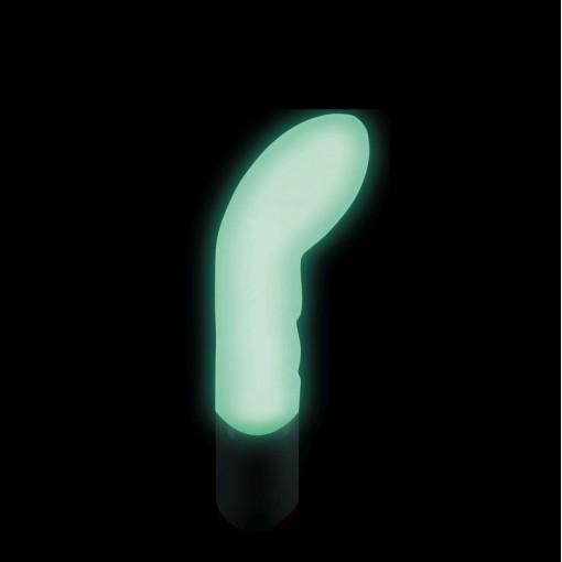 Dorcel Expert G wibrator punktu G biały - świecący w ciemności