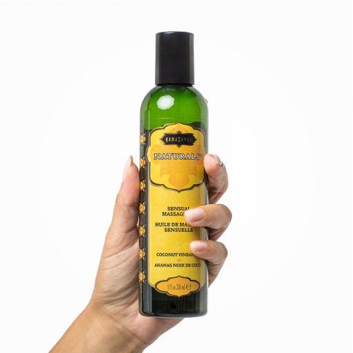 Kama Sutra Naturals olejek do masażu kokos i ananas 236 ml