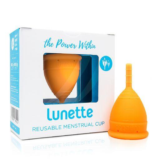 Lunette kubeczek menstruacyjny pomarańczowy rozmiar 1