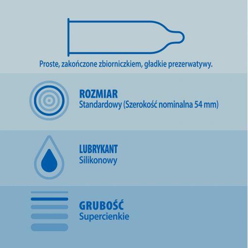 Durex Invisible najcieńsze prezerwatywy 10 szt.