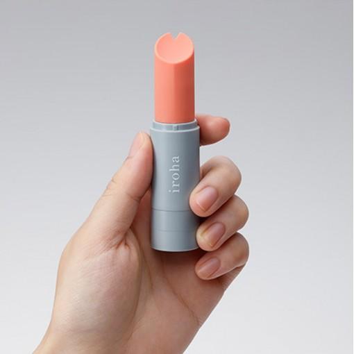 Iroha Stick masażer w kształcie szminki koralowy