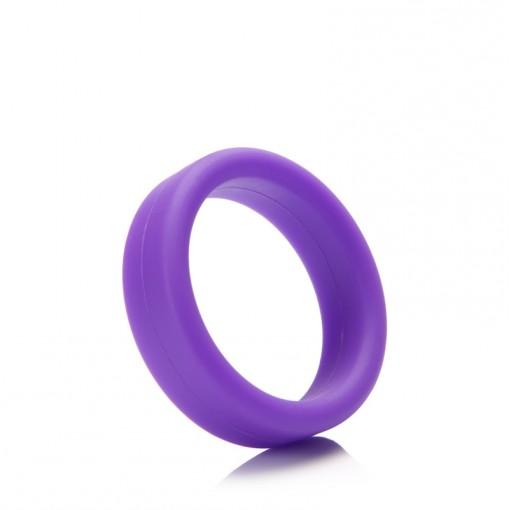 Tantus Super Soft C-Ring pierścień erekcyjny fioletowy