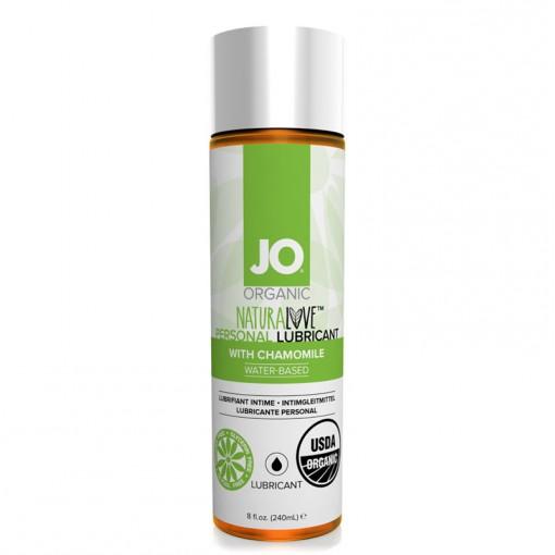System JO Natural Love organiczny lubrykant na bazie wody 240 ml