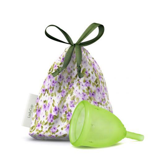 LadyCup kubeczek menstruacyjny zielony rozmiar L