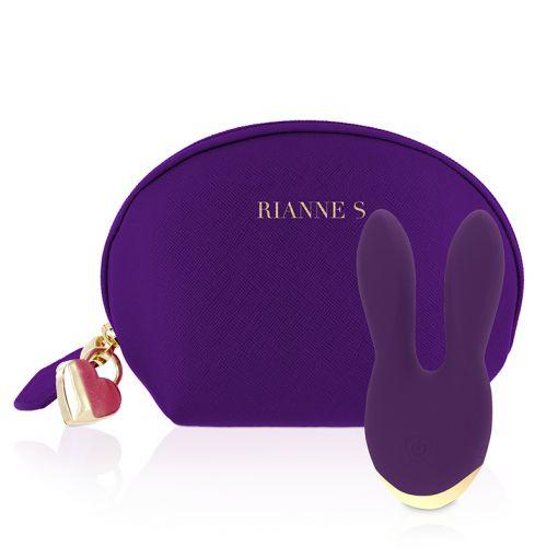Rianne S Bunny Bliss masażer w kształcie króliczka fioletowy