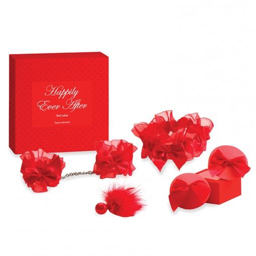 Bijoux Indiscrets Happily Ever After zestaw na noc poślubną czerwony