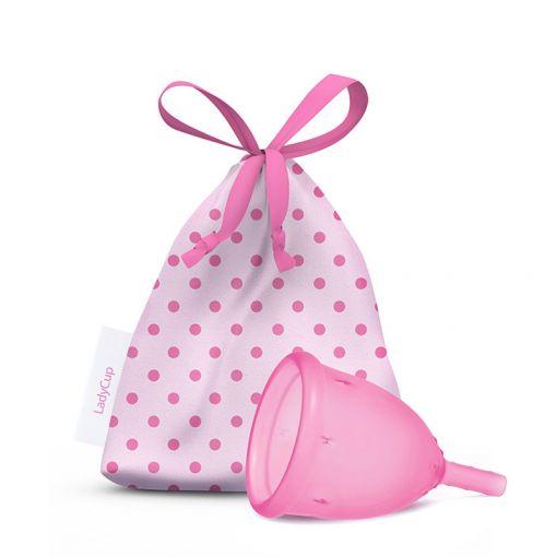 LadyCup kubeczek menstruacyjny jasnoróżowy rozmiar S