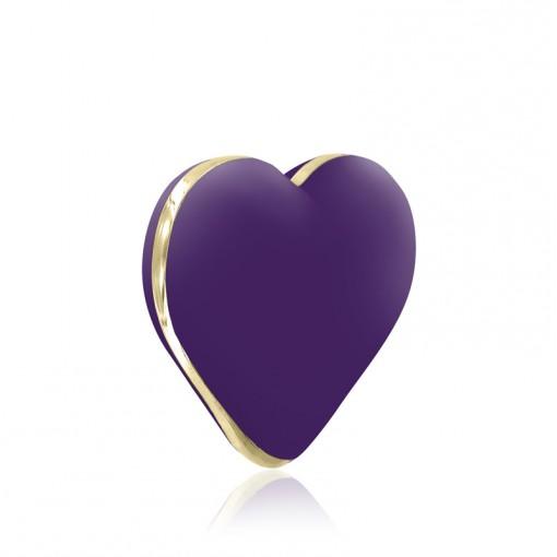 Rianne S Heart Vibe wibrujące serduszko fioletowe