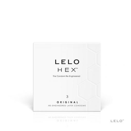 LELO Hex Original prezerwatywy 3 szt.