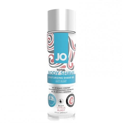 System JO Total Body Shave łagodzący żel do golenia miejsc intymnych cytrusowy 240 ml