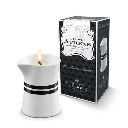 Petits Joujoux świeca do masażu Ateny piżmo i paczula 120 g
