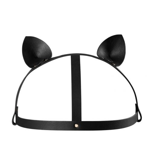 Bijoux Indiscrets Maze opaska z kocimi uszami czarna
