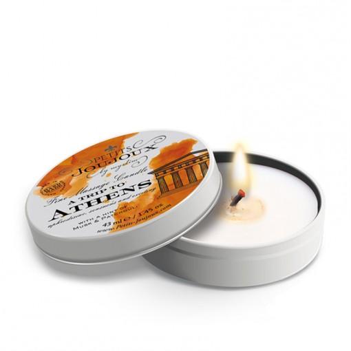 Petits Joujoux świeca do masażu Ateny piżmo i paczula 33 g