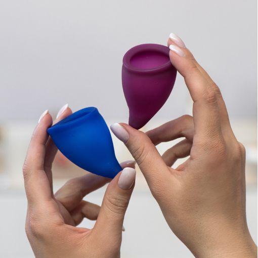 Fun Factory Fun Cup zestaw kubeczków menstruacyjnych rozmiar B - 2 szt.