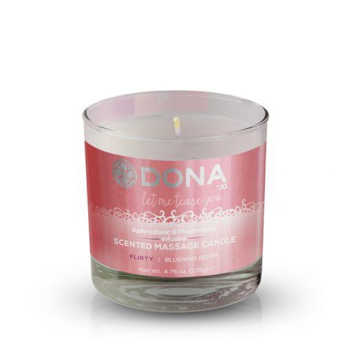 Dona świeca do masażu zapachowa Flirty owoce leśne 135 g