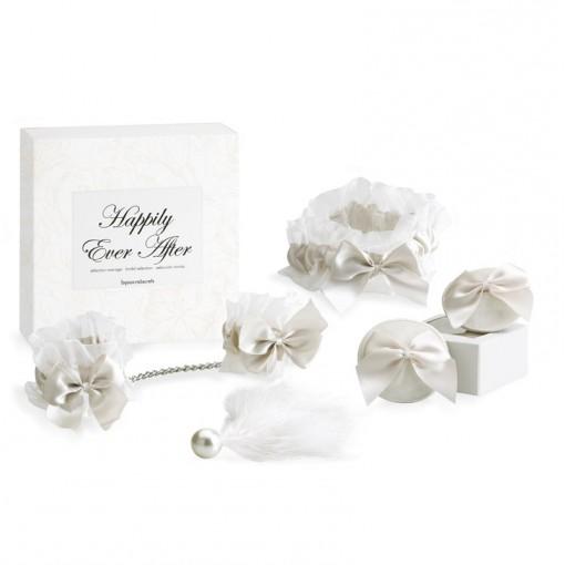 Bijoux Indiscrets Happily Ever After zestaw na noc poślubną biały