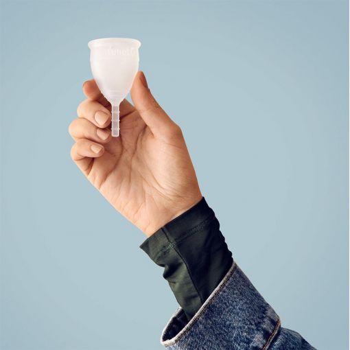 Lunette kubeczek menstruacyjny przezroczysty rozmiar 1