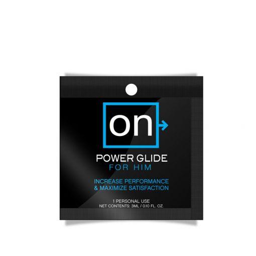 Sensuva ON Power Glide żel stymulujący dla mężczyzn saszetka 3 ml