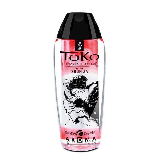 Shunga Toko Aroma lubrykant na bazie wody wiśniowy 165 ml