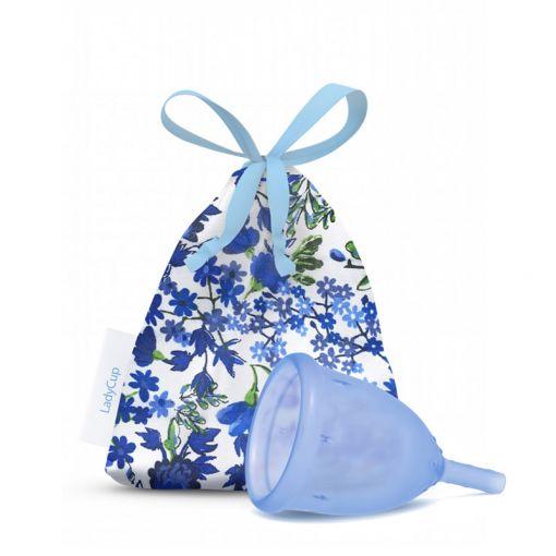 LadyCup kubeczek menstruacyjny niebieski rozmiar S
