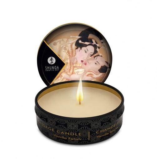 Shunga świeca do masażu waniliowa 30 ml