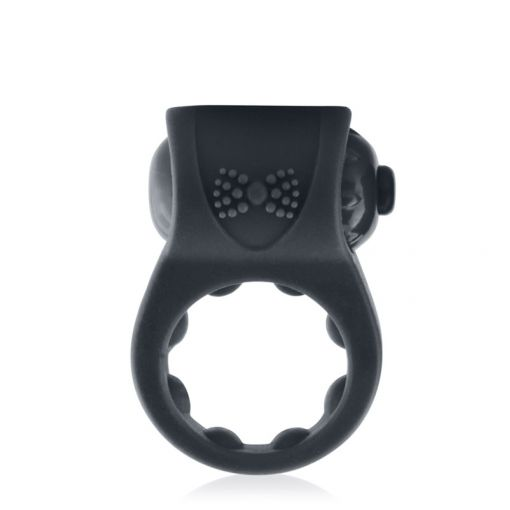 Screaming O PrimO Tux wibrujący pierścień dla par czarny