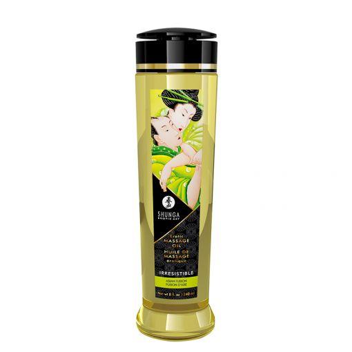 Shunga olejek do masażu Irresistible azjatyckie kwiaty i owoce 240 ml