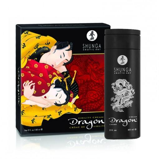 Shunga Dragon krem dla par zwiększający przyjemność intensywny 60 ml