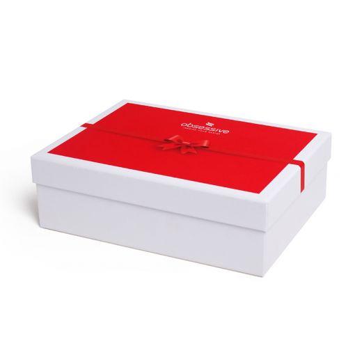 Obsessive pudełko prezentowe czerwone